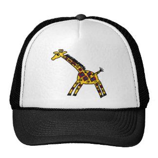 XX- Funky Giraffe Cartoon Trucker Hat