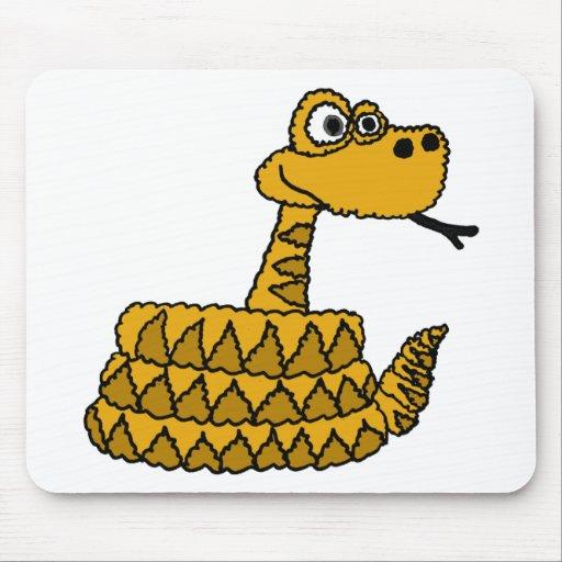 XX- Funky Rattlesnake Cartoon Mouse Pad