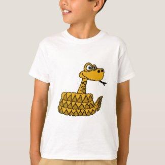 XX- Funky Rattlesnake Cartoon T-Shirt