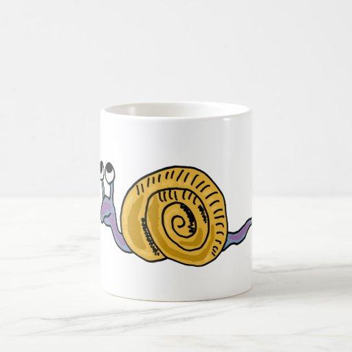 XX- Funky Snail Coffee Mug