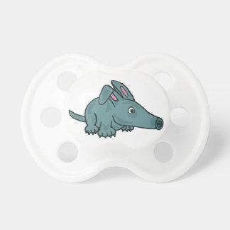 XX- Funny Aardvark Cartoon BooginHead Pacifier
