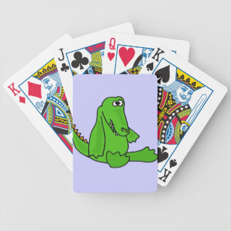 XX- Funny Baby Alligator Cartoon Bicycle Playing Cards