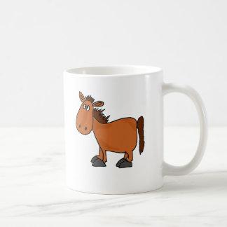 XX- Funny Bay Horse Cartoon Coffee Mug