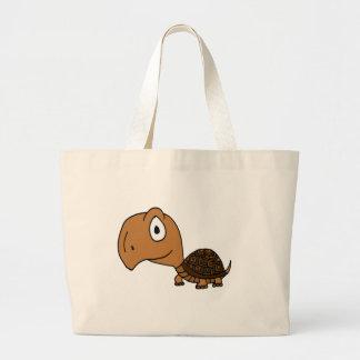 XX- Funny Box Turtle Design Tote Bag