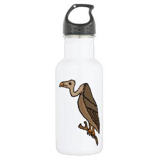 XX- Funny Buzzard Cartoon 18oz Water Bottle