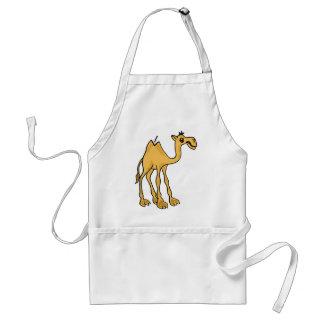 XX- Funny Camel Cartoon Adult Apron
