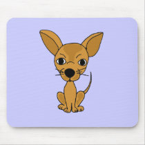 XX- Funny Chihuahua Design Mouse Pad