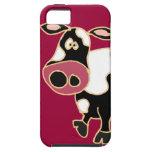 XX- Funny Cow Cartoon iPhone 5 Cases