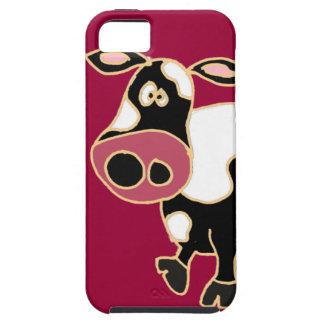 XX- Funny Cow Cartoon iPhone SE/5/5s Case