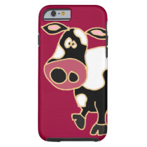 XX- Funny Cow Cartoon Tough iPhone 6 Case