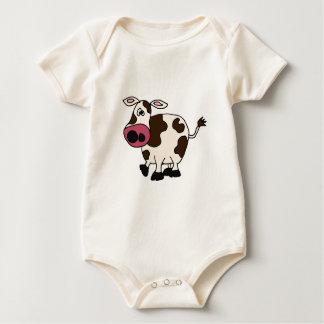 XX- Funny Cow Design Baby Bodysuit