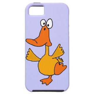 XX- Funny Dancing Duck Cartoon iPhone SE/5/5s Case