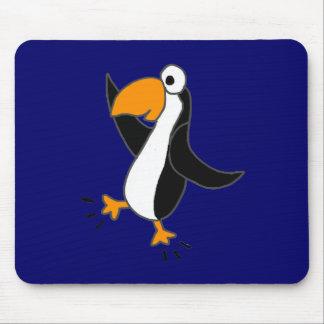 XX- Funny Dancing Penguin Cartoon Mousepad