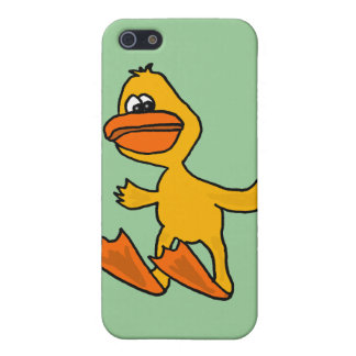 XX- Funny Dead Duck Cartoon Case For iPhone SE/5/5s