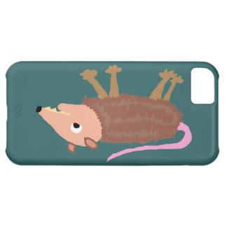XX- Funny Dead Possum Roadkill Cartoon iPhone 5C Cover