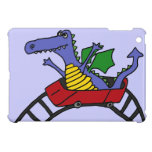 XX- Funny Dragon on a Roller Coaster Case For The iPad Mini
