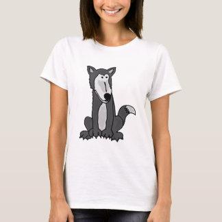 XX- Funny Goofy Grey Wolf T-Shirt
