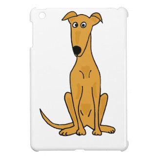 XX- Funny Greyhound Dog Cartoon iPad Mini Case