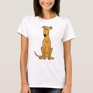 XX- Funny Greyhound Dog Cartoon T-Shirt