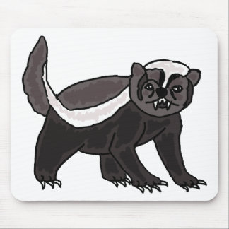 XX- Funny Honey Badger Mouse Pad