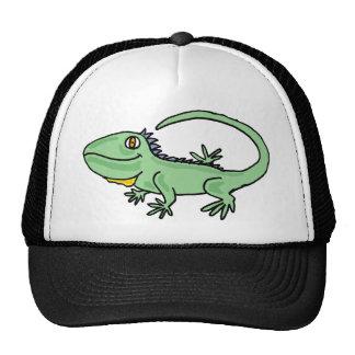 XX- Funny Iguana Cartoon Trucker Hat