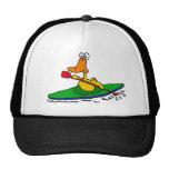 XX- Funny Kayaking Duck Trucker Hat