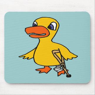 XX- Funny Lame Duck Cartoon Mousepads