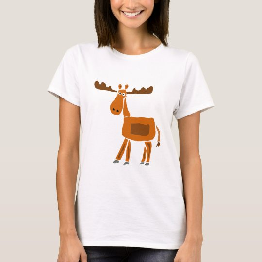 XX- Funny Moose Art Design T-Shirt