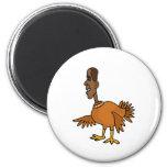 XX- Funny Obama Turkey Cartoon Refrigerator Magnets