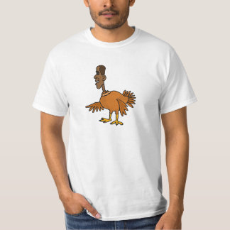 XX- Funny Obama Turkey Cartoon T-Shirt