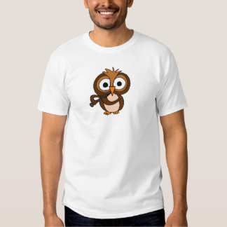 XX- Funny Owl Playing the Clarinet Tshirt