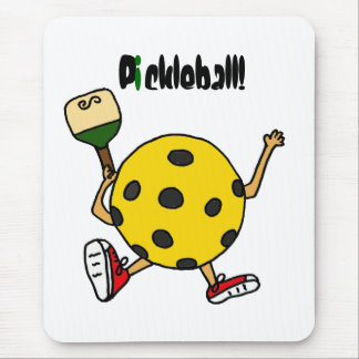 XX- Funny Pickleball Character Mouse Pad