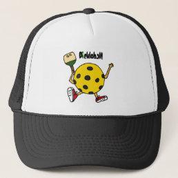 XX- Funny Pickleball Character Trucker Hat