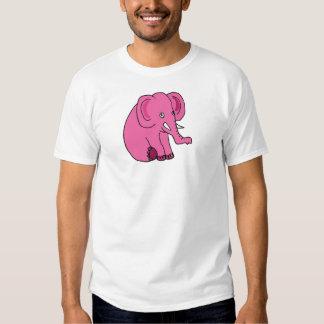 XX- Funny Pink Elephant T Shirt