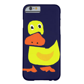 XX- Funny Primitive Art Duck Barely There iPhone 6 Case