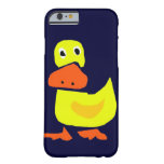 XX- Funny Primitive Art Duck iPhone 6 Case