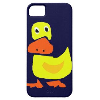 XX- Funny Primitive Art Duck iPhone SE/5/5s Case