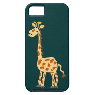 XX- Funny Primitive Art Giraffe iPhone SE/5/5s Case