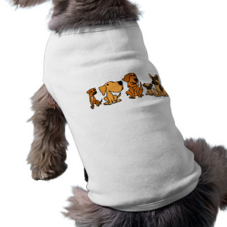 XX- Funny Rescue Dogs Group Cartoon Shirt