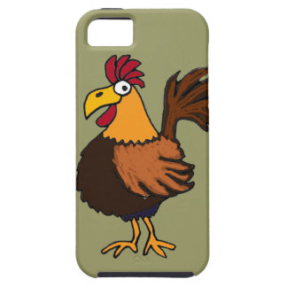 XX- Funny Rooster Cartoon iPhone 5 Case