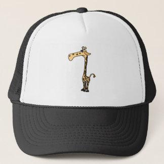 XX- Funny Sad Giraffe Trucker Hat