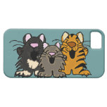 XX- Funny Singing Cats Cartoon iPhone 5 Covers