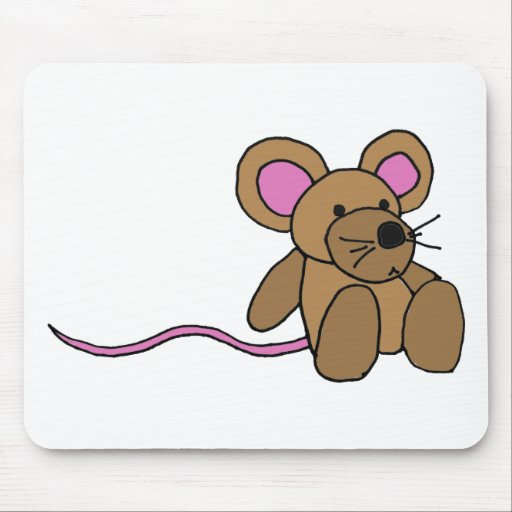 XX- Funny Sitting Mouse Mouse Pads
