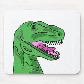 XX- Funny T-Rex Dinosaur Cartoon Mouse Pad