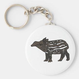 XX- Funny Tapir Cartoon Keychain