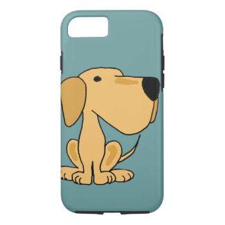 XX- Funny Yellow Labrador Dog Art iPhone 8/7 Case
