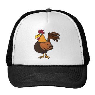 XX gallo enrrollado Gorro