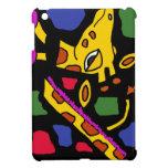 XX- Giraffe Abstract Art Cover For The iPad Mini