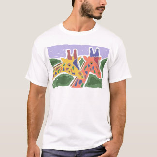 XX- Giraffe Art T-Shirt