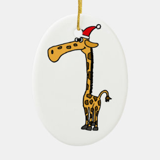Funny Giraffe Ornaments & Keepsake Ornaments | Zazzle